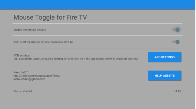 9th step to Controlling ShowBox using Amazon Fire TV Remote