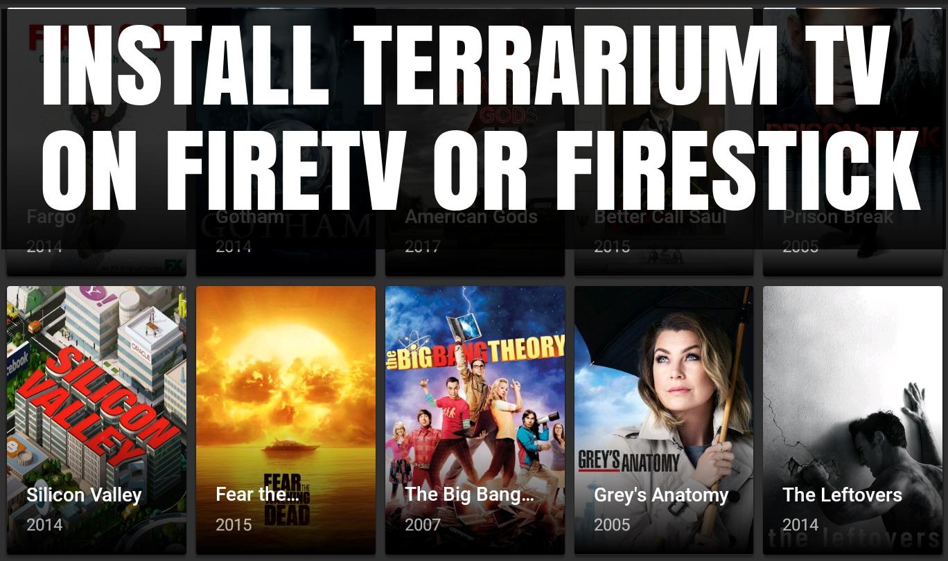 How to install Terrarium TV on Firestick