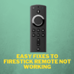 resolve-firestick-remote-not-working-problems
