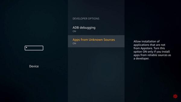Aptoide TV on FireStick using Downloader Step 4