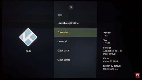 How to Clear Cache on Kodi FireStick Step 4