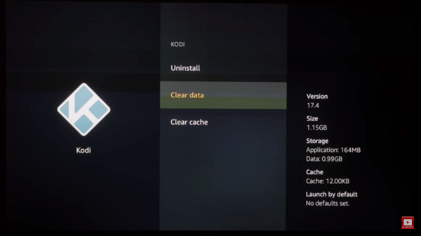 How to Clear Cache on Kodi FireStick Step 6