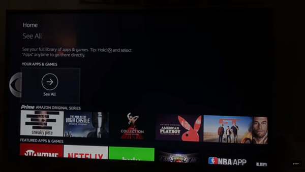 How to uninstall Kodi on FireStick Method 2 Step 2