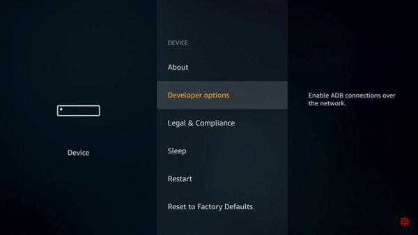 Step 3 Aptoide TV on FireStick using Downloader