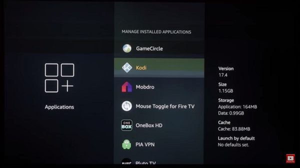 Step 3 How to Clear Cache on Kodi FireStick