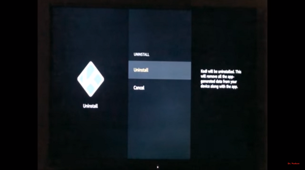 Step 5 How to uninstall Kodi on FireStick Method 1