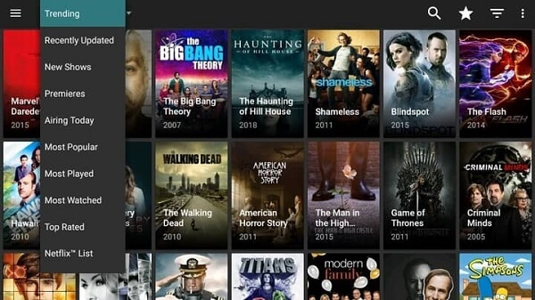 cyberflix-Tv-App-interface