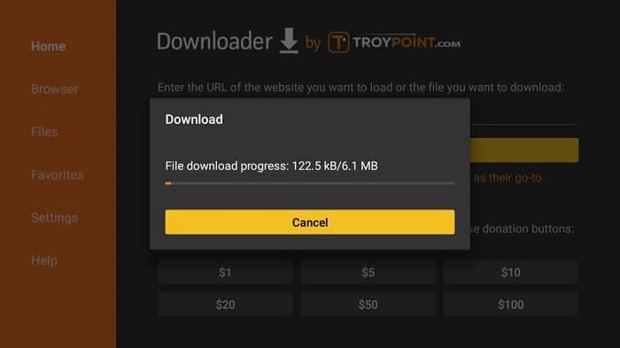 Download-starts
