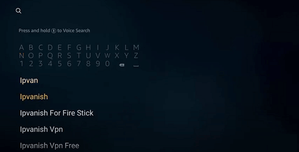 how-to-install-ipvanish-on-firestick-step-3