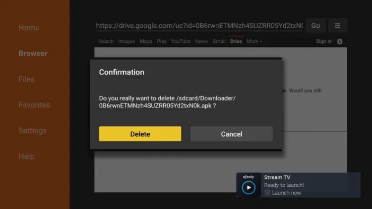How-to Install-Xfinity-Stream-on-Firestick-Downloader-App-Step-19