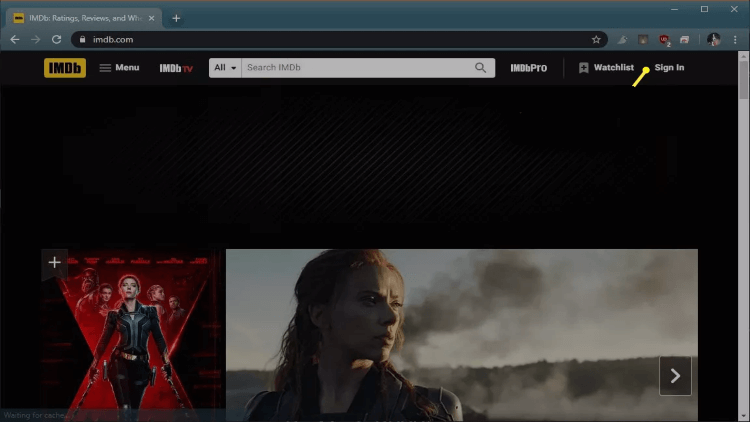 How-to-Sign-up-on-IMDb-TV-App-Step-2
