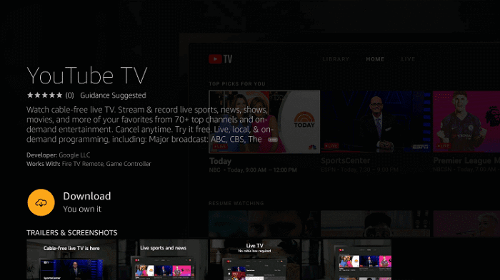Live-football-matches-with-youtube-TV-step4