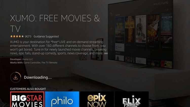 how-to-install-xumo-tv-using-amazon-store-5