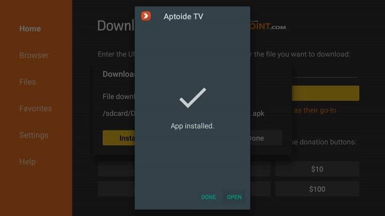 install-xumo-tv-on-firestick-using-aptoide-tv-13