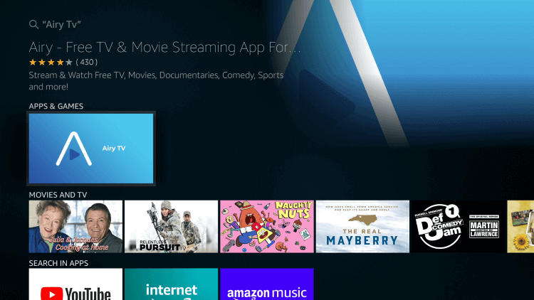 airy-tv-on-firestick-step3
