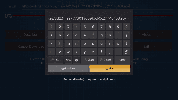how-to-use-firedl-codes-step2